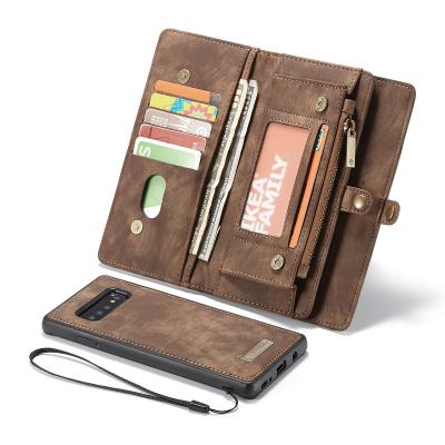 CaseMe plånboksfodral med magnetskal, Samsung Galaxy S10 Plus