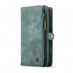CaseMe plånboksfodral magnetskal, Samsung Galaxy S9, blå