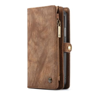 CaseMe plånboksfodral med magnetskal, iPhone XR, brun
