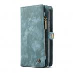 CaseMe plånboksfodral med magnetskal till iPhone XS Max, blå
