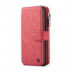 CaseMe plånboksfodral med magnetskal, Samsung Galaxy S20, röd