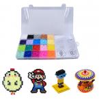 Pärlkit för barn, 20 färger, 2.6mm, 11.000 delar