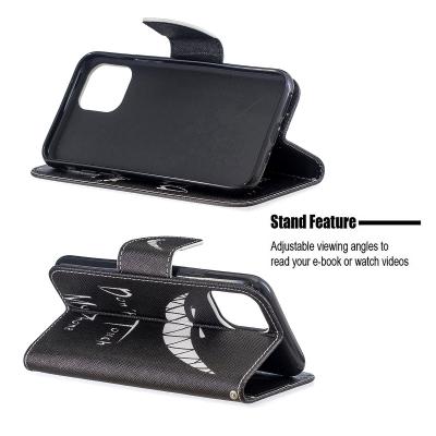 Coolt läderfodral med ställ/kortplats, iPhone 11 Pro