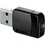 D-Link Mini AC580 USB2.0 nätverksadapter, svart