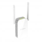 D-Link N300 WiFi-förlängare, upp till 300 Mbps, 10/100, vit