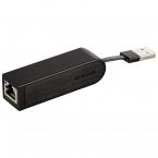 D-Link USB 2.0 till 10/100Mbps Ethernet-adapter