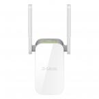 D-Link WiFi-Förlängare, Dual Band, Gigabit WiFi, 1200 Mbps, vit