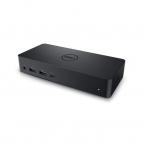 DELL D6000, Universal dockningsstation, USB 3.0, svart