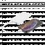 Deltaco 10.000 mAh Powerbank, 2xUSB‑A,  LED‑indikator, vit