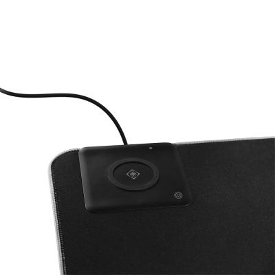 Deltaco Gaming musmatta med trådlös laddning, 10W, 1190x590x4mm