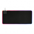 DELTACO GAMING RGB mousepad, fast wireless charging, 900x400x4mm