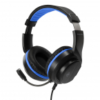 Deltaco Gaming Stereo-headset till PS5, 3.5mm, 2m kabel, svart