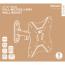 "DELTACO Office, full‑motion 2‑way wall, 23""‑42"", 25kg, 75x75‑200‑200"