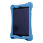 """Deltaco skal i silikon för 10.2""""-10.5"""" iPads, stativ, blå"""
