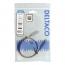 Deltaco USB‑C till USB‑C‑kabel, 60W, 10 Gbps, 0,5m, grå