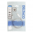 Deltaco USB‑C till USB‑C‑kabel, 60W, 10 Gbps, 0,5m, silver