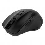 Deltaco Office Trådlös tyst mus, ergonomisk, 6 knappar, 500Hz