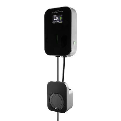 DELTACO e‑Charge Mode 3 laddbox för hemmabruk, Typ 2, 16A, 11KW
