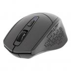 Deltaco tyst trådlös mus, bluetooth, 1x AA, 800-1600 DPI, grå