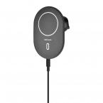 Deltaco trådlös billaddare med magnetisk snap, iPhone 12/13
