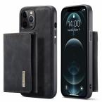 DG. MING M1-serie mobilskal till iPhone 12/12 Pro, svart