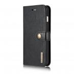 DG.MING fodral med magnetskal & ställ, iPhone 8/7 Plus, svart