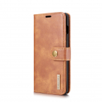 DG.MING Detachable PU Leather + TPU Back Cover Case with Card Holder W