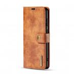 DG.MING fodral, magnetskal & ställ, Samsung Galaxy S20+, brun