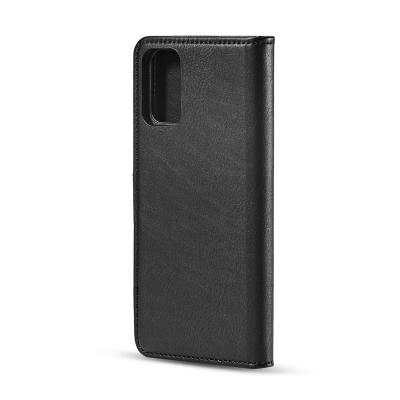 DG.MING fodral med magnetskal & ställ, Samsung Galaxy S20, svart