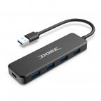 DOBE TY-0805 USB-hubb med 4st USB 3.0 till PS4, 5V