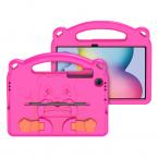 DUX DUCIS Panda barnfodral, Samsung Tab S6 Lite, rosa