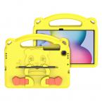 DUX DUCIS Panda barnfodral, Samsung Tab S6 Lite, gul