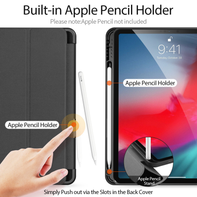 DUX DUCIS Domo Series fodral till iPad Air 10.9 (2020), svart