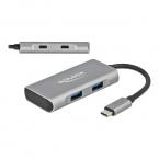 Delock External USB 3.2 Gen 2 USB-C hubb, 2xUSBA+2xUSBC, 7.5W