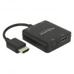 Delock HDMI ljuddelare, 4K, 60Hz