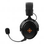 Deltaco Gaming DH410 Trådlöst Gaming-headset, svart