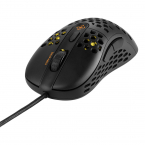 Deltaco Gaming DM420 Ultralätt optisk gamingmus, svart