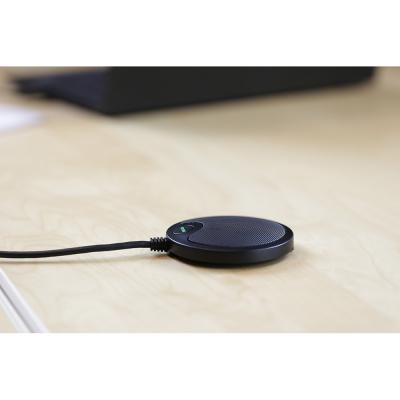 Deltaco Office, tryckzonsmikrofon med USB och 3.5mm, VoiP/Skype