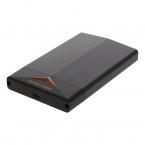 """Deltaco gaming, 2.5"""" Sata HDD/SSD kabinett, LED, svart"""