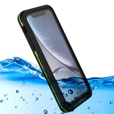 Vattentätt TPU skal till iPhone XR, svart