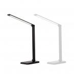 Dimbar skrivbordslampa med QI-laddning och 5 ljuslägen, vit