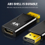 DisplayPort till HDMI‑omvandlare, 4K, 21.6Gbps, 50x22mm