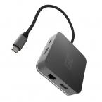 Green Cell 6-i-1 Dockningsstation HUB USB-C