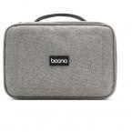 Multifunktionell väska i slitstarkt tyg dubbla lager, grå