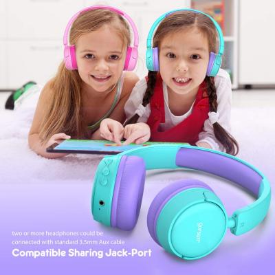 gorsun E62 trådlösa barnhörlurar med volymkontroll