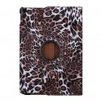 Leopard fodral med roterbart ställ, iPad 10.2 (2019-2020), brun