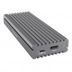 Icy Body Externt Type-C™ aluminium kabinett för M.2 NVMe SSD, silver