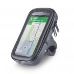 """Forever BH-100 XL Cykelhållare för mobiler och GPS, 5.7"""", svart"""