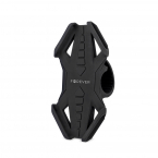 "Forever BH-120 Cykelhållare i silikon, 6"", svart"
