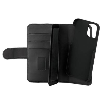 GEAR 2‑i‑1 Fodral med Magnetskal, 7 Kortfack, iPhone 12 Mini